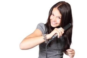Splisstrimmer Haare glätten